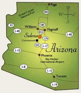 Arizona-map-of