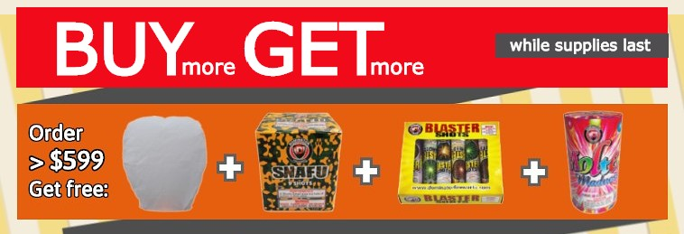Free Fireworks Deals and Specials