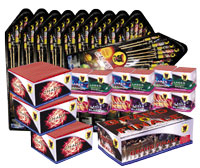 Fireworks - 200G Multi-Shot Cake Aerials Store - Buy fireworks cake for sale on-line - FIREWORKS JUNKIE