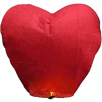 Wholesale Sky Lanterns - Heart Shape