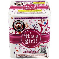 Fireworks - 200G Multi-Shot Cake Aerials - Its a Girl!