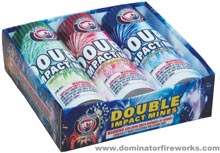 Fireworks - 200G Multi-Shot Cake Aerials - Double Impact Mines