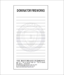 Wholesale Dominator Memo Pads