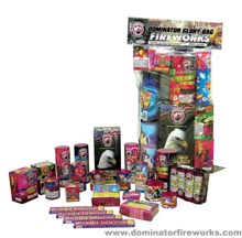 Fireworks - Fireworks Assortments - Dominator Glory Fireworks Assortment Bag