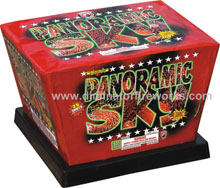 Fireworks - Maximum Load 500g Cakes - Our top selling fire works sold at our on-line store! - Panaromic Sky - 500g Cake