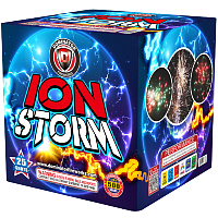 Fireworks - 500g Firework Cakes - Ion Storm