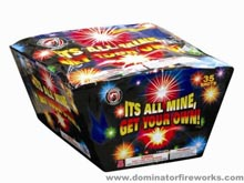 Fireworks - 500g Firework Cakes - Its all mine, Get your own! - 500g Cake