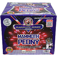 Fireworks - Maximum Load 500g Cakes - Our top selling fire works sold at our on-line store! - Mammoth Peony