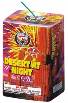 Fireworks - Miscellaneous Fireworks - DESERT AT NIGHT (7)