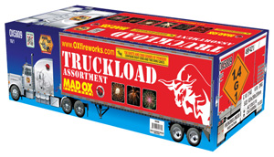 Fireworks - 500g Firework Cakes - Mad OX Truckload Assortment