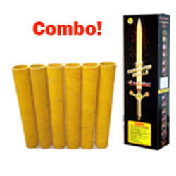 Fireworks - Reloadable Artillery Shells - Excal Mortar Combo