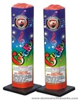 Fireworks - Fountains Fire Works have one or more tubes that spray bright colorful sparks and loud crackle sparks high into the air! - Cuckoo Fountain