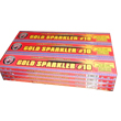 Fireworks - Sparklers - Add some dazzle to your wedding reception with sparkling Wedding Sparklers. Non-explosive so no min order and lower shipping rates! -  No. 10 GOLD SPARKLERS - Wire