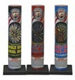 Fireworks - Single Shot Aerials - these pre-loaded artillery shells produce the biggest bursts available. - Single Shot Motar 500M
