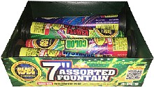 ASSORTED FOUNTAIN 7 Fireworks For Sale - Fountains Fireworks