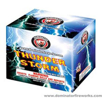 Fireworks - 200G Multi-Shot Cake Aerials Store - Buy fireworks cake for sale on-line - Thunder Storm
