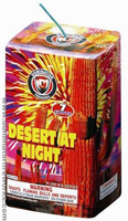 Fireworks - 200G Multi-Shot Cake Aerials Store - Buy fireworks cake for sale on-line - Desert at Night