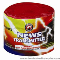 News Transmitter Fireworks For Sale - 200G Multi-Shot Cake Aerials
