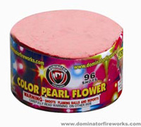 96 Shot Color Pearl Flower Fireworks For Sale - 200G Multi-Shot Cake Aerials