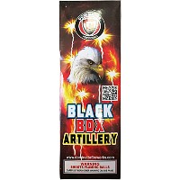 Dominator Black Box Artillery Shells (Compact box) Fireworks For Sale - Reloadable Artillery Shells
