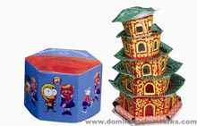 Fireworks - Ground Items items strobe crackle pop zip and zing!  Try classics like Jumping Jacks and Ground Bloom Flowers or our new whirlwinds that spin spark and end in loud crackles. - FRIENDSHIP PAGODA