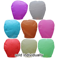 Fireworks - Novelties are not classified as Fire Works and therefore can be shipped through the mail at lower shipping costs.  Lower shipping rates! - Sky Lanterns
