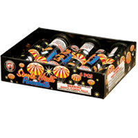 Fireworks - Parachutes Firework Store - A favorite of both kids and adults alike.  Great fun as daytime fireworks as well. - Single Night Parachute