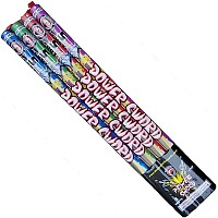 Power Sword Candle Fireworks For Sale - Roman Candles