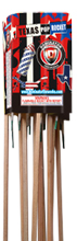 Texas Pop Rocket Fireworks For Sale - Bottle Rockets