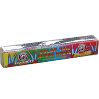 200 shot Color Tail Saturn Missile Fireworks For Sale - Missiles