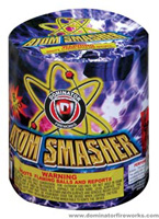Fireworks - 200G Multi-Shot Cake Aerials Store - Buy fireworks cake for sale on-line - Atom Smasher