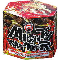 Fireworks - 200G Multi-Shot Cake Aerials Store - Buy fireworks cake for sale on-line - Mighty Rattler