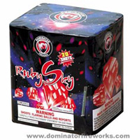 Fireworks - 200G Multi-Shot Cake Aerials Store - Buy fireworks cake for sale on-line - Ruby Sky