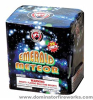 Fireworks - 200G Multi-Shot Cake Aerials Store - Buy fireworks cake for sale on-line - Emerald Meteor