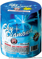 Fireworks - 200G Multi-Shot Cake Aerials Store - Buy fireworks cake for sale on-line - Sky Diamond