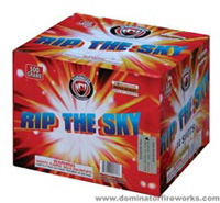 Fireworks - Maximum Load 500g Cakes - Our top selling fire works sold at our on-line store! - Rip The Sky - 500g Cake