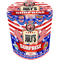 Julys Surprise - 200g Fireworks Cake Fireworks For Sale - 200G Multi-Shot Cake Aerials