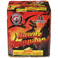 Fireworks - 200G Multi-Shot Cake Aerials Store - Buy fireworks cake for sale on-line - Rowdy Rampage