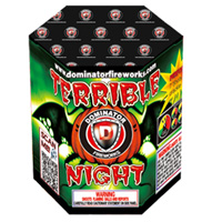 TERRIBLE NIGHT Fireworks For Sale - 200G Multi-Shot Cake Aerials