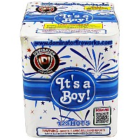 Its a Boy! Fireworks For Sale - 200G Multi-Shot Cake Aerials