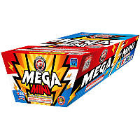 Fireworks - 200G Multi-Shot Cake Aerials Store - Buy fireworks cake for sale on-line - Mega Mini-BOGO