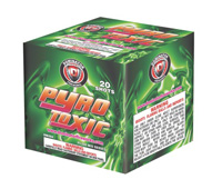 Fireworks - 200G Multi-Shot Cake Aerials Store - Buy fireworks cake for sale on-line - Pyro Toxic