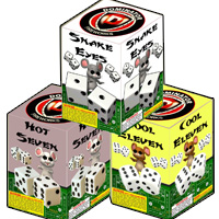 Fireworks - 200G Multi-Shot Cake Aerials Store - Buy fireworks cake for sale on-line - Three Blind Dice