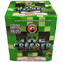 The Creeper Fireworks For Sale - 200G Multi-Shot Cake Aerials