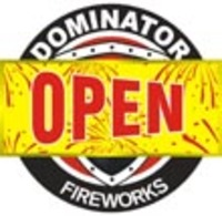 Fireworks - Promotional Supplies- Fireworks Posters-Fireworks t-Shirts-Fireworks Video-Fireworks How-To-Fireworks Banners-and more! Non-explosive so no min order and lower shipping rates! - 3ft x 6ft Open Sign