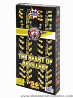 Fireworks - Reloadable Artillery Shells/Mortars Fireworks For Sale- Relodable Kits contain a mortar tube and several shells that are loaded and fired one at a time. - The Beast of Artillery