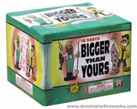 Fireworks - Maximum Load 500g Cakes - Our top selling fire works sold at our on-line store! - Bigger Than Yours - 500g Cake
