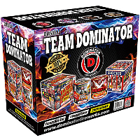 Team Dominator 500g Fireworks For Sale - 500g Firework Cakes