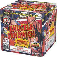 Knuckle Sandwich Fireworks For Sale - 500g Firework Cakes