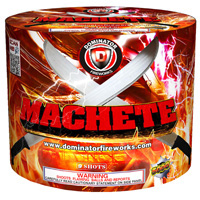 Machete Fireworks For Sale - 500g Firework Cakes